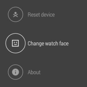 Samsung Gear Live prostředí Android Wear 21