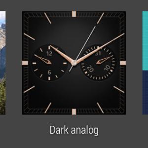 Samsung Gear Live prostředí Android Wear 24
