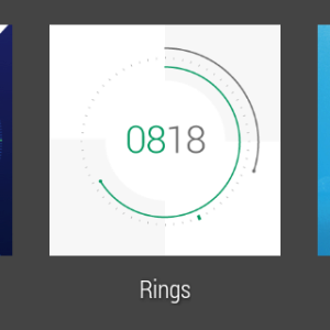 Samsung Gear Live prostředí Android Wear 25