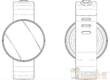 Chytré hodinky s kulatým displejem