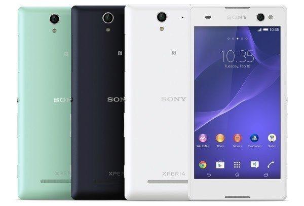 Sony Xperia C3 - selfie