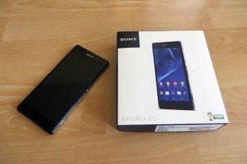 Sony Xperia Z2 obsah balení 1