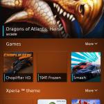 Sony Xperia Z2 ukázka aplikací 8