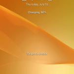 Sony Xperia Z2 ukázka uživatelského prostředí01