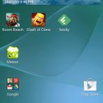 Sony Xperia Z2 ukázka uživatelského prostředí02