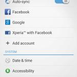 Sony Xperia Z2 ukázka uživatelského prostředí16