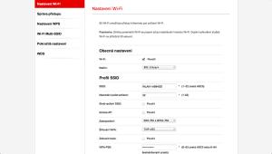 Vodafone Turbo Internet nastavení modemu 11