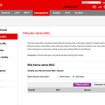 Vodafone Turbo Internet nastavení modemu 18
