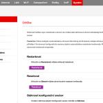 Vodafone Turbo Internet nastavení modemu 26