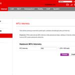 Vodafone Turbo Internet nastavení modemu 7
