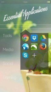 Voxis launcher 1 android aplikace