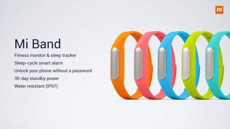 Xiaomi MiBand fitness