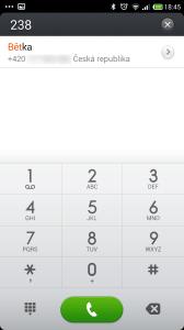 Xiaomi Redmi Note - dialer