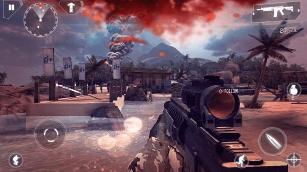 Ani hra Modern Combat 4 nepřinesla problémy