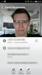 Xiaomi Redmi Note - kontakty