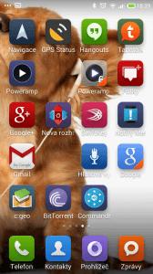 Xiaomi Redmi Note - prostredi systemu MIUI (1)