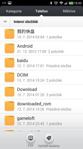 Xiaomi Redmi Note - prostredi systemu MIUI (5)