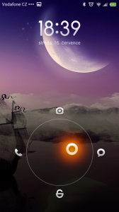 Xiaomi Redmi Note - zamykací obrazovka (1)