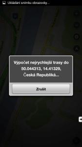 Výpočet trasy