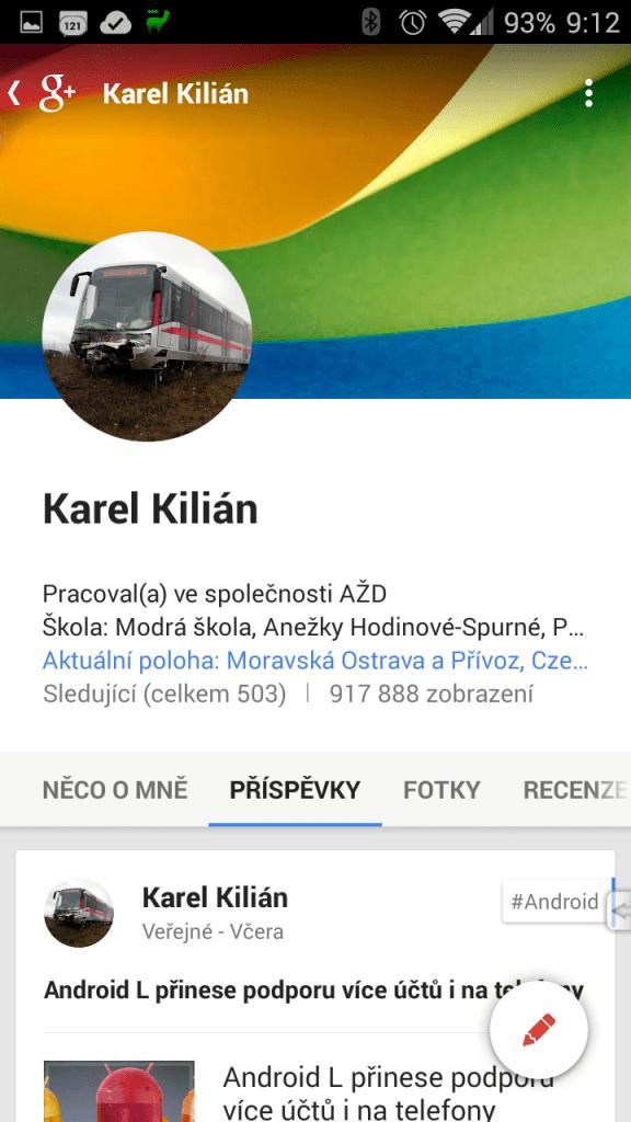 Největší změnou prošel profil, který je zarovnaný k levé straně