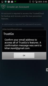 E-mailem přijde potvrzení
