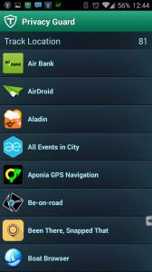 Aplikace s přístupem k poloze