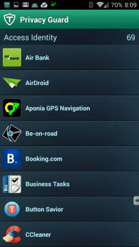 Aplikace s přístupem k identitě