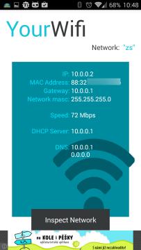 Základní informace o síťovém připojení