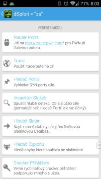 Možnosti útoku na bránu/router