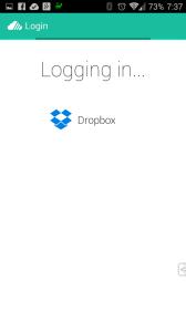 Schválení přístupu aplikace do Dropboxu