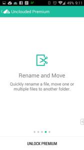 Prémiová verze umí přejmenovávat a přesouvat soubory i složky