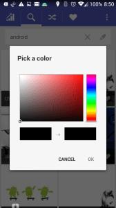 Vyhledávání podle barvy