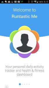 """Runtastic Me je váš osobní """"tracker"""" a přehled pohybové aktivity"""