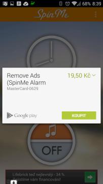 Odstranění reklam přijde na necelých 20 Kč