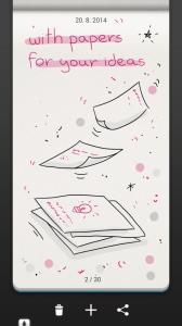 …s papíry pro vaše nápady