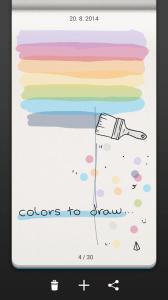 Barvičky na kreslení