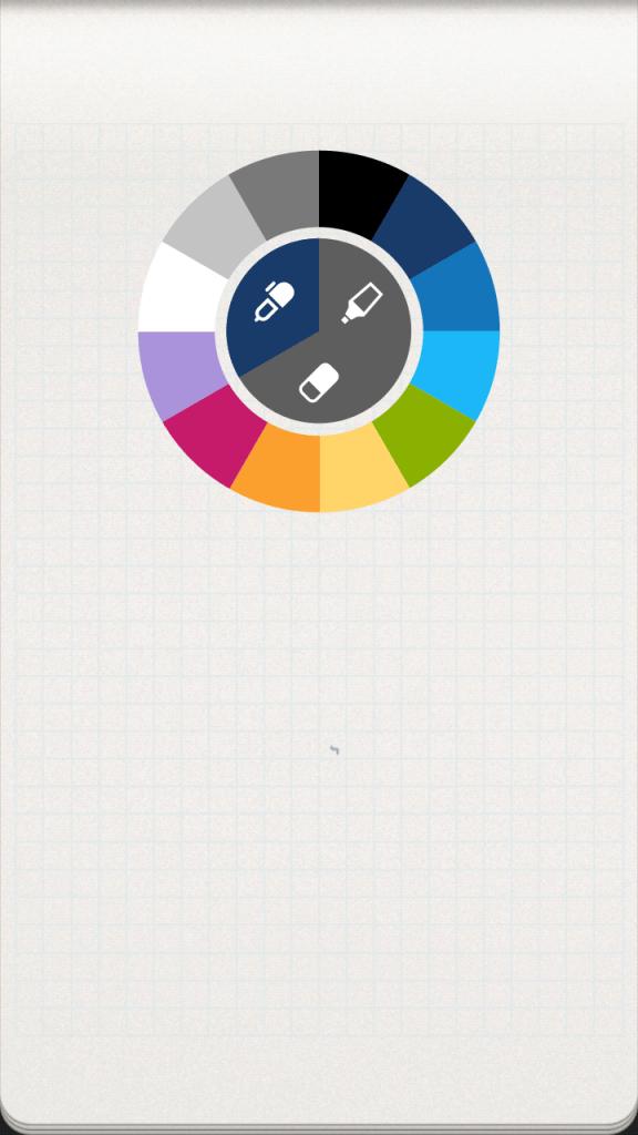 Výběr nástroje a barvy