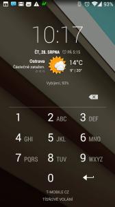 Android Lost: uzamknutí telefonu
