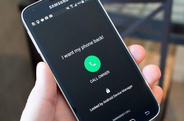 Správce zařízení Android přidává možnost zavolat majiteli telefonu