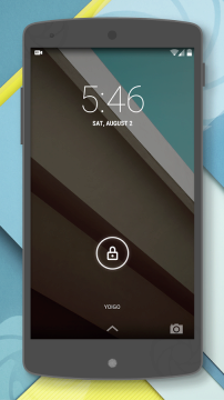 Android L Theme – CM11