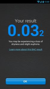 Aplikace BACtrack