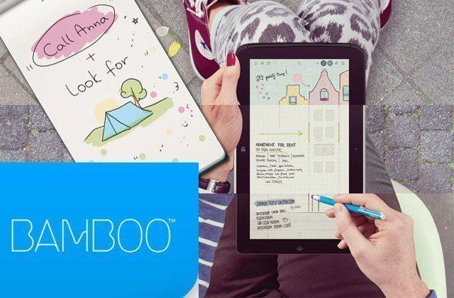 Bamboo Paper memo: jednoduchý poznámkový blok od Wacomu