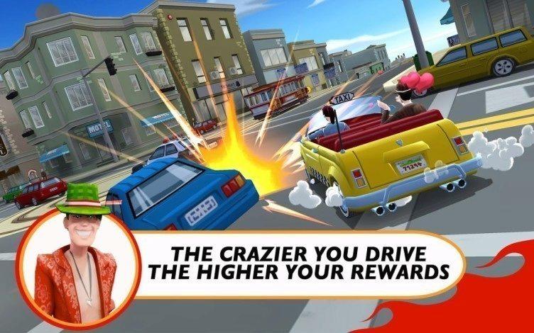 crazy taxi 1 SEGA