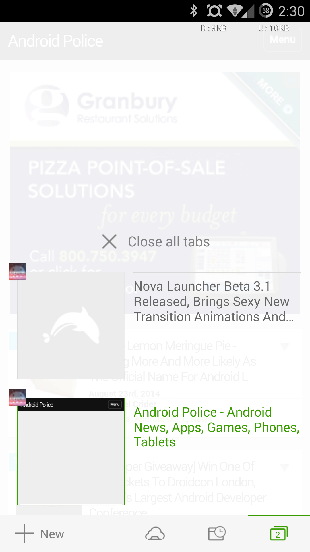 Dolphin Browser Beta 1...
