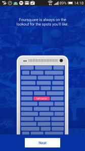 Foursquare check-iny