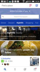 Foursquare check-iny 3