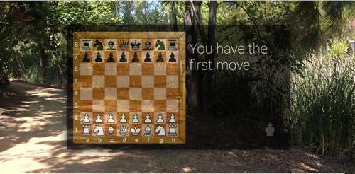 google glass chess