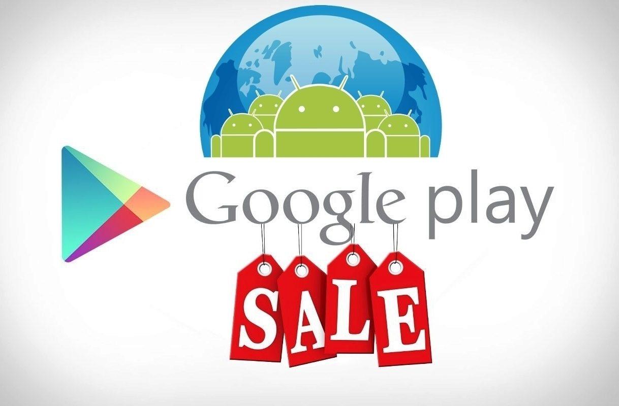 google play sleva