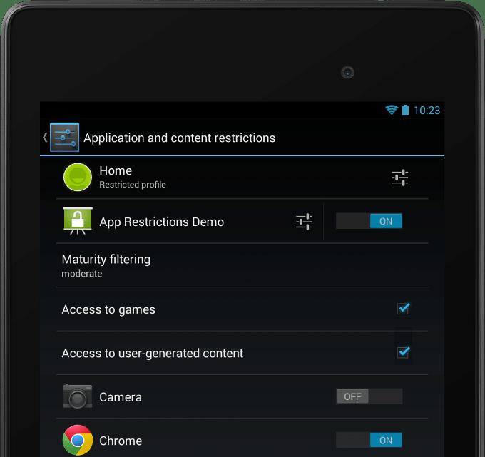Android L přinese podporu více účtů i na telefony