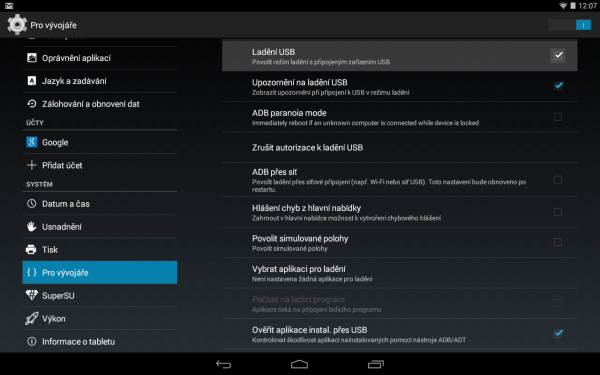Kingo Android ROOT - USB ladění
